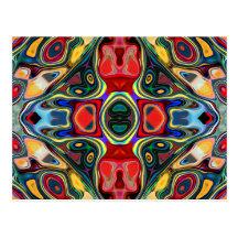 Abstract Shapes Mandala
