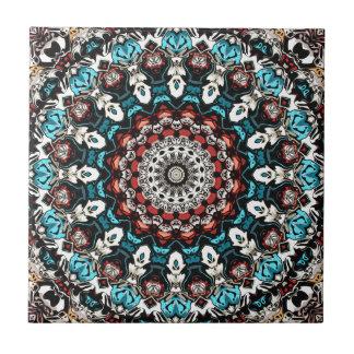 Abstract Shapes Mandala Tile