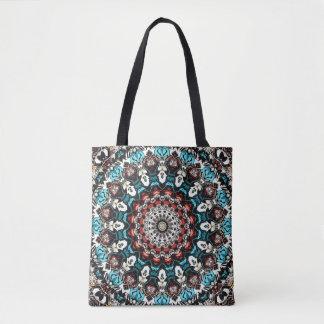 Abstract Shapes Mandala Tote Bag