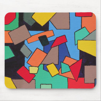 Abstract Shapes Mouse Pad