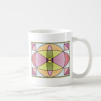 Abstract Shapes Pastel Mug