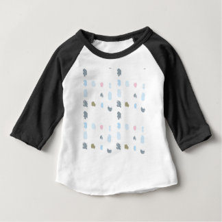 Abstract shapes pattern in pastel colors 2 baby T-Shirt