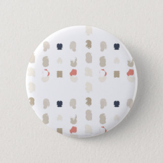 Abstract shapes pattern in pastel colors 3 6 cm round badge