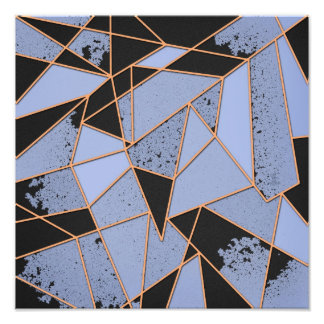 Abstract shattered photo