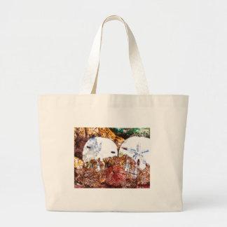 Abstract Shells Large Tote Bag