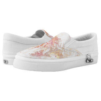 Abstract shiny colors Slip-On shoes