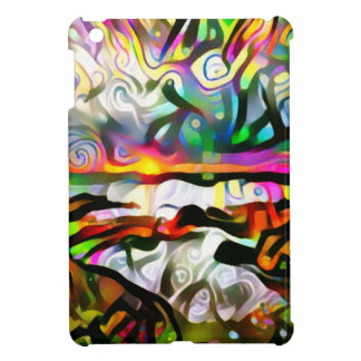Abstract shore iPad mini covers