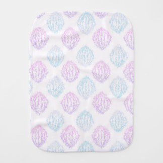 Abstract simple burp cloth
