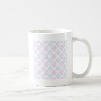 Abstract simple coffee mug