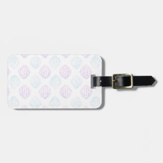 Abstract simple luggage tag