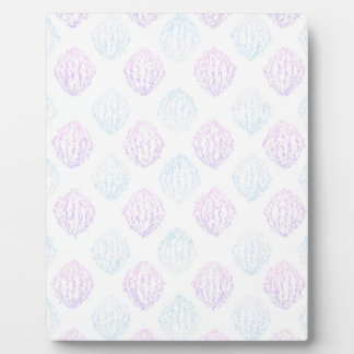 Abstract simple plaque