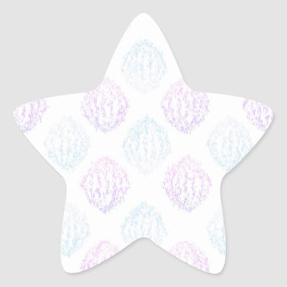 Abstract simple star sticker
