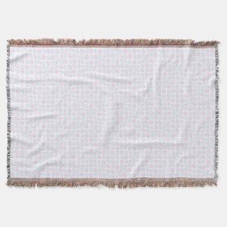 Abstract simple throw blanket