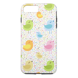 Abstract Singing Chicks iPhone 8 Plus/7 Plus Case