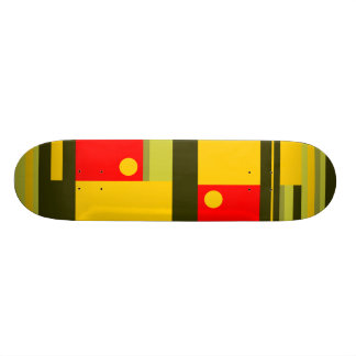Abstract Skate Board