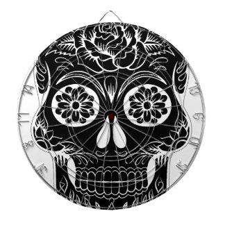 Abstract Skull Dartboard
