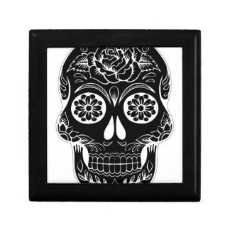 Abstract Skull Gift Box