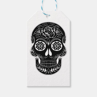 Abstract Skull Gift Tags