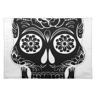 Abstract Skull Placemat