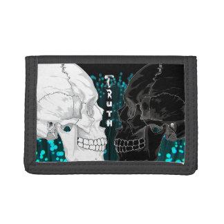Abstract Skull Wallet - Truth