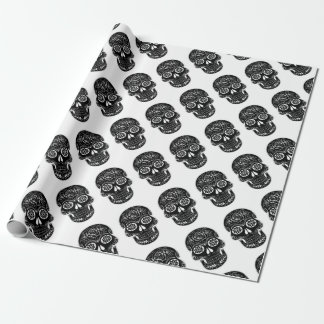 Abstract Skull Wrapping Paper