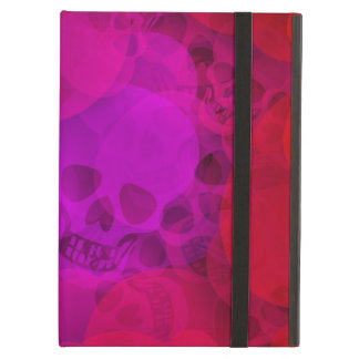 abstract skulls iPad air case