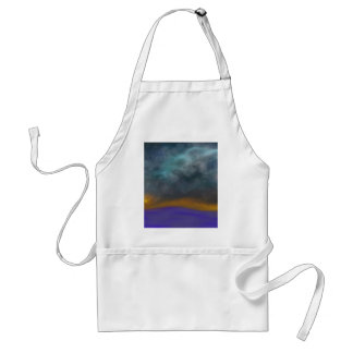Abstract sky standard apron