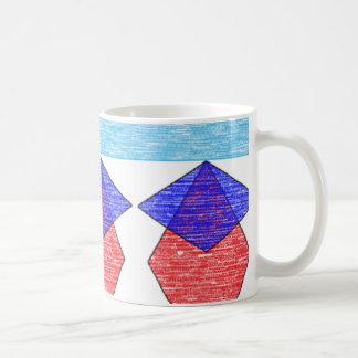 Abstract skyline mug