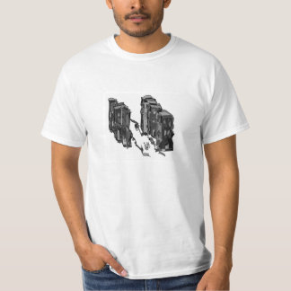 abstract skyscrapers shirt