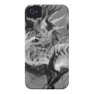Abstract Small Dog iPhone 4 Case-Mate Case