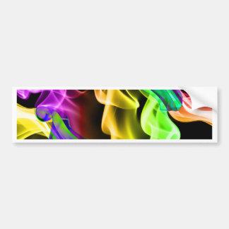 Abstract Smoke Art Photography Bumper Sticker