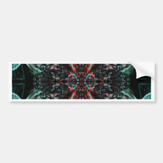 Abstract Smoke Art Photography Bumper Stickers