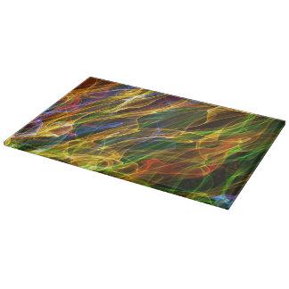 Abstract Smoke Cutting Board