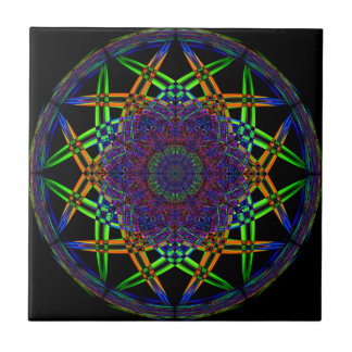Abstract Smoke Design Ceramic Tile