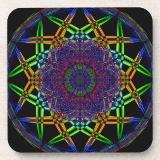Abstract Smoke Design Coaster