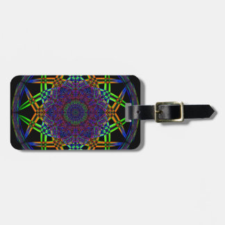 Abstract Smoke Design Luggage Tag