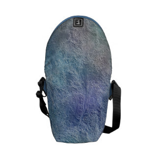 Abstract Soothing Cool Colors Mini Messenger Bag