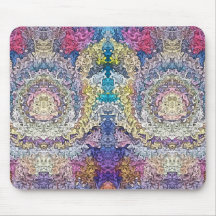 Abstract Spectral Symmetry 1 Mouse Pad