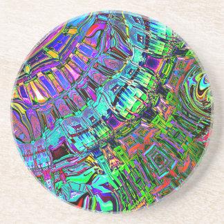 Abstract Spectrum of Shapes Coaster