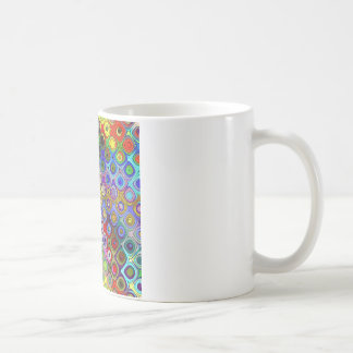 Abstract Spectrum of Shapes Coffee Mug