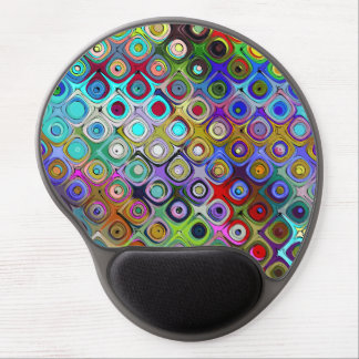 Abstract Spectrum of Shapes Gel Mouse Pad