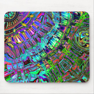 Abstract Spectrum of Shapes Mouse Pad