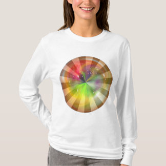 Abstract Sphere with Light Effect T-Shirt