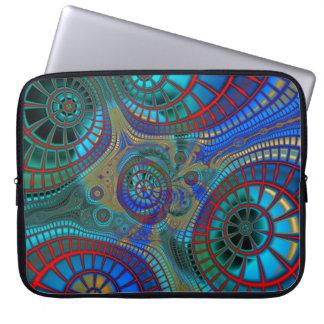 Abstract Spirals Laptop Sleeve