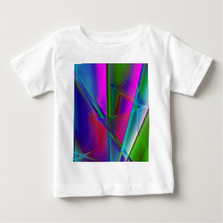 abstract spirograph background baby T-Shirt
