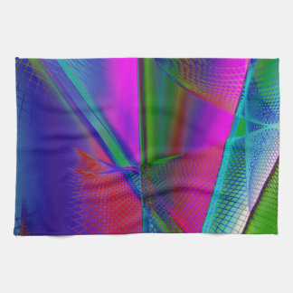 abstract spirograph background towels
