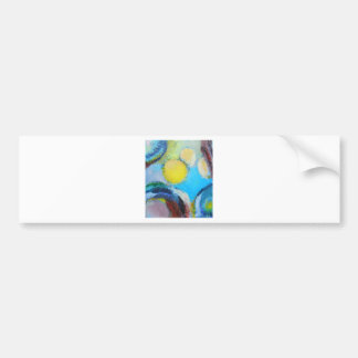 Abstract Spores (microscopic expressionism) Bumper Sticker