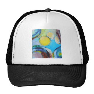 Abstract Spores (microscopic expressionism) Mesh Hat