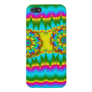 Abstract Spring design w Fantasy Flowers iPhone 5 Case
