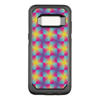 Abstract square vector mosaic OtterBox commuter samsung galaxy s8 case